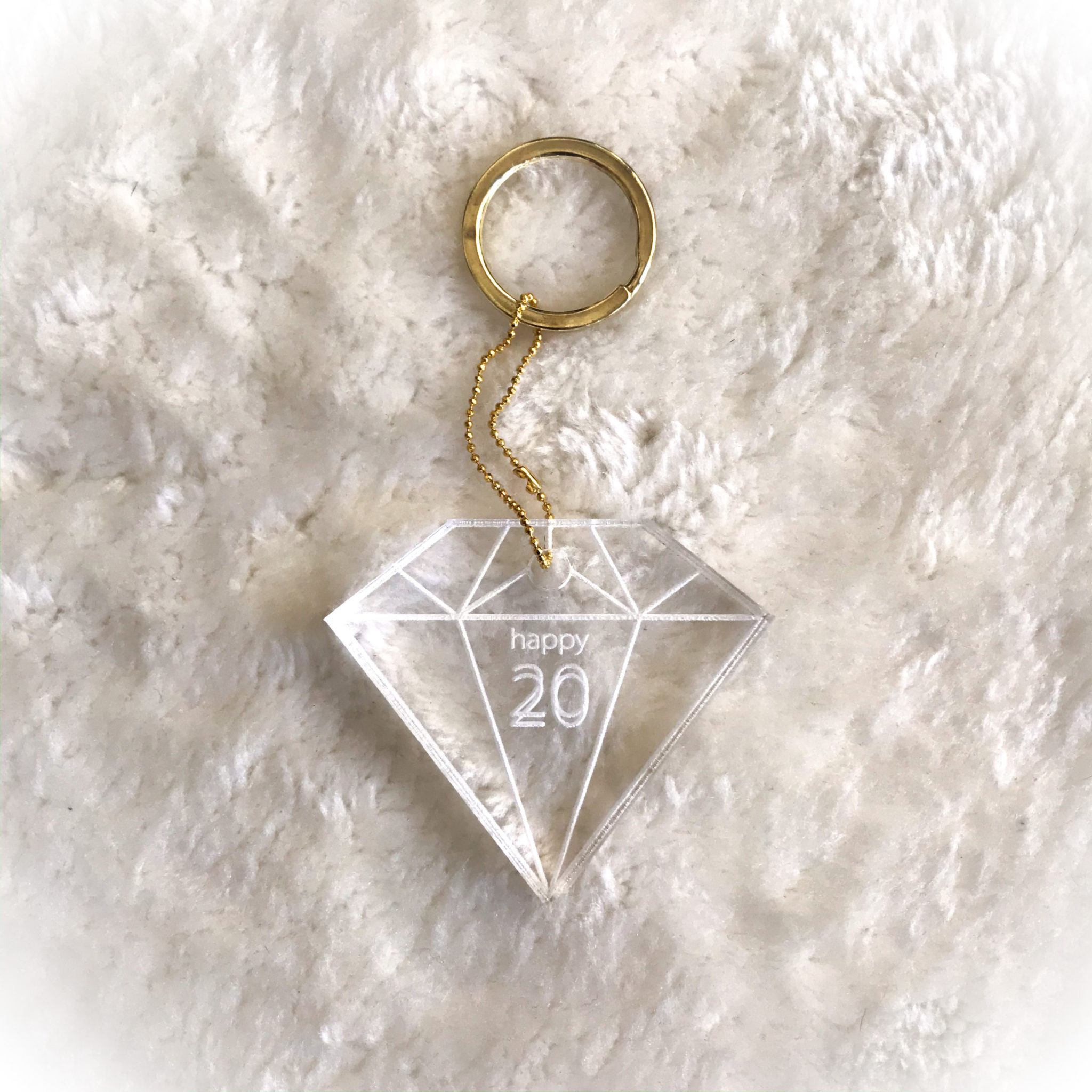 2020 Shine Bright Like A Diamond-special occasion-keychain