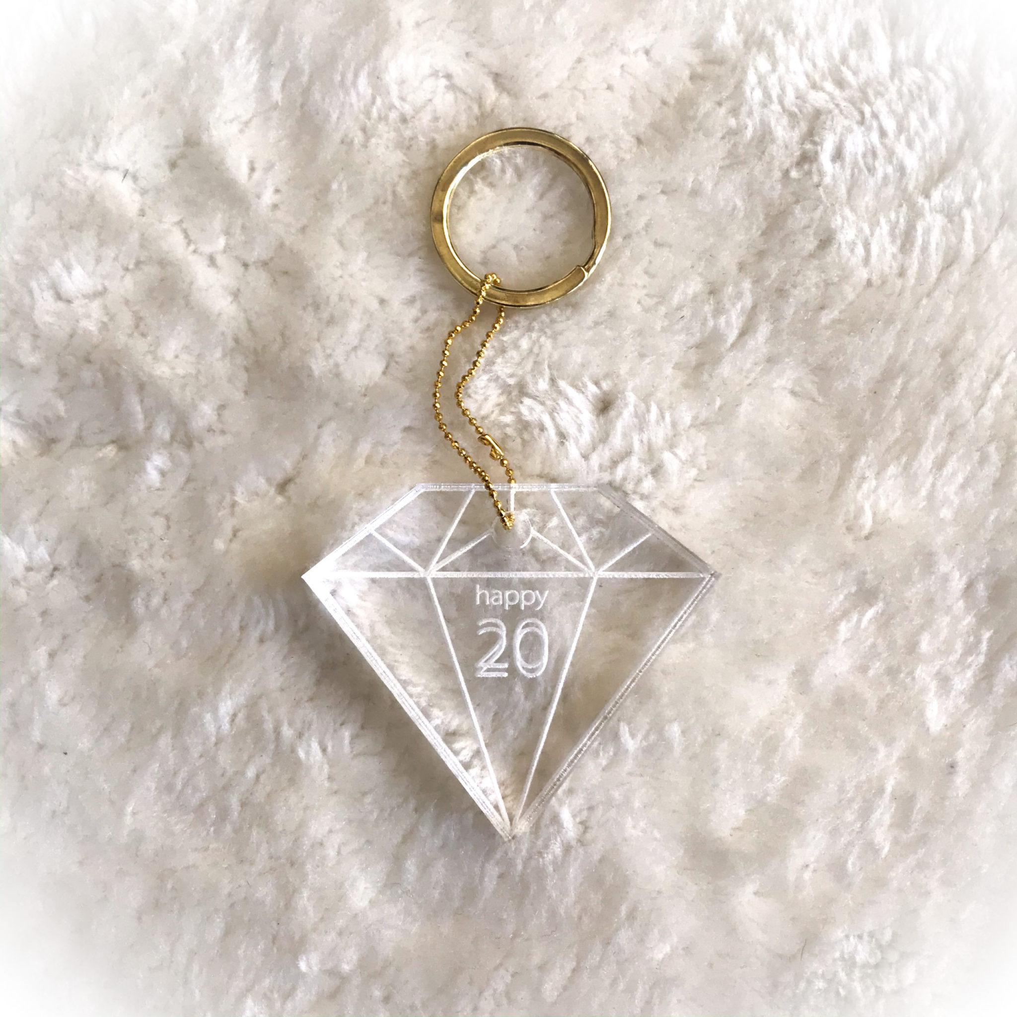 2020 Shine Bright Like A Diamond-special occasion-keychain