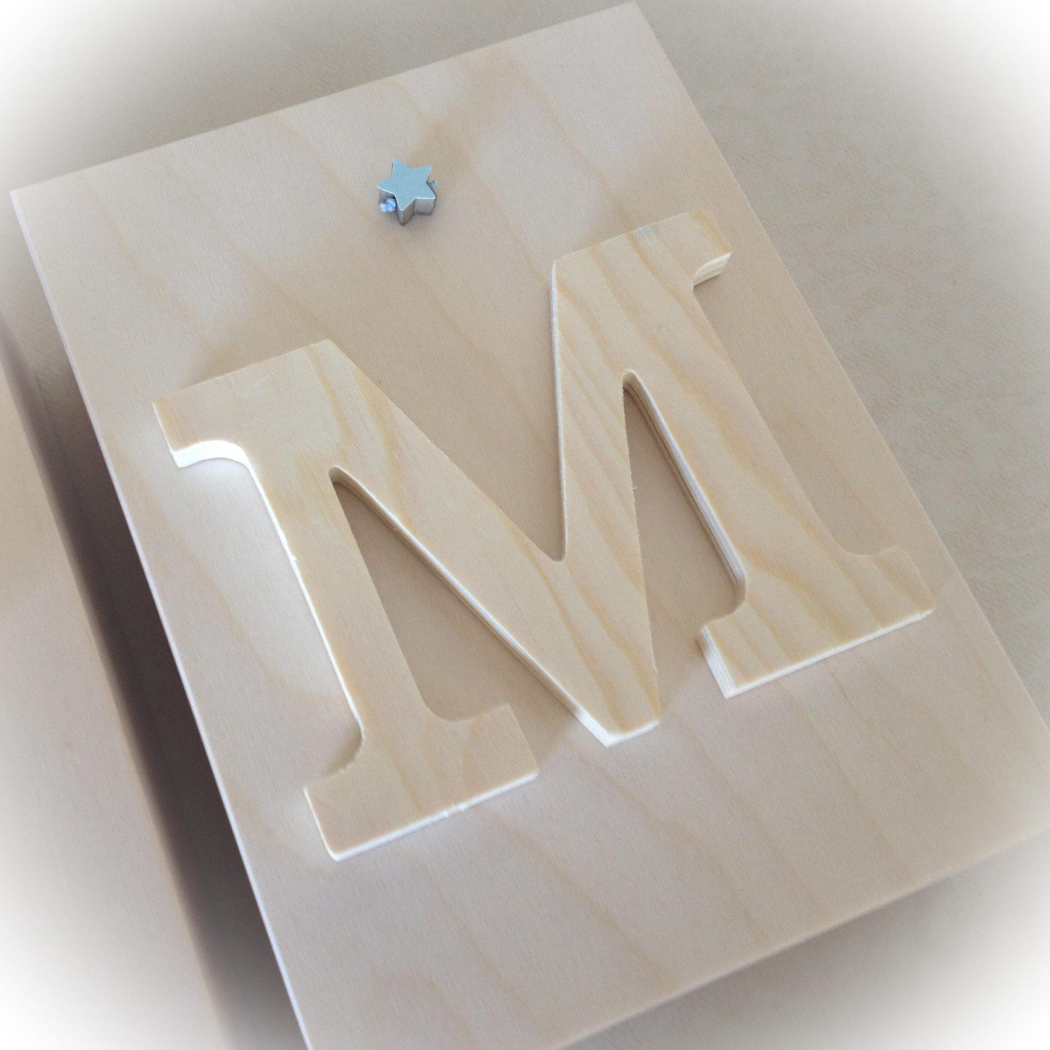 Big Big Star-baptism-box-monogramm