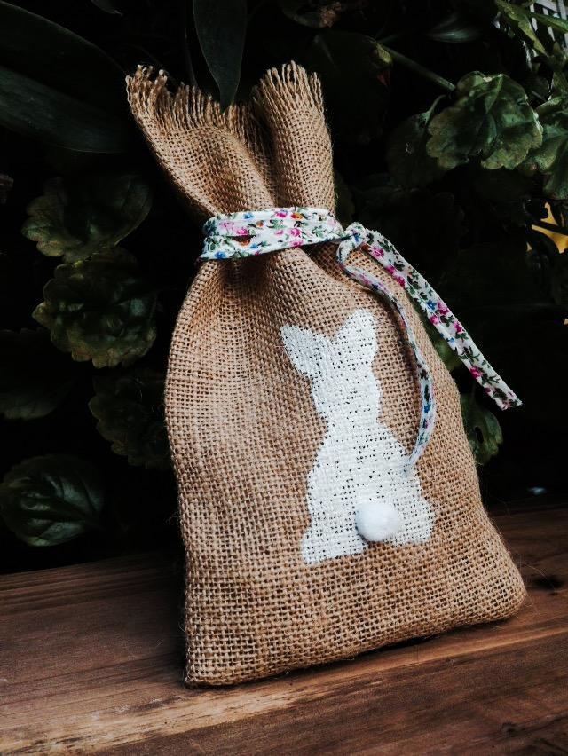 Bunnies Everywhere-baptism favor