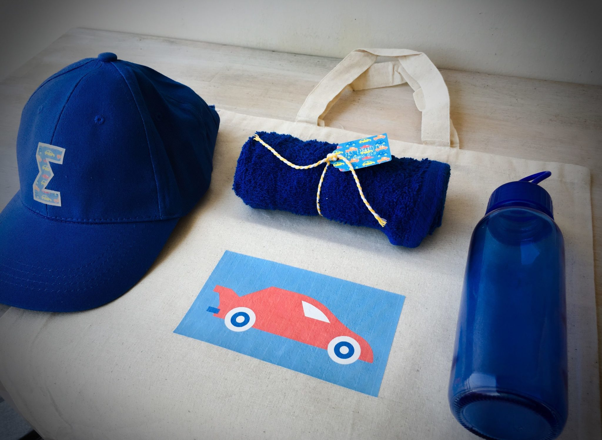 Cars-party-boys gift bag-contents