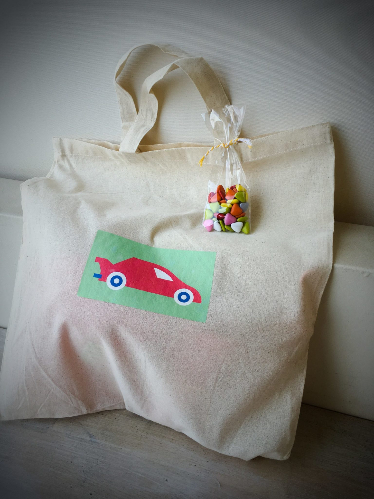Cars-party-gift bag b