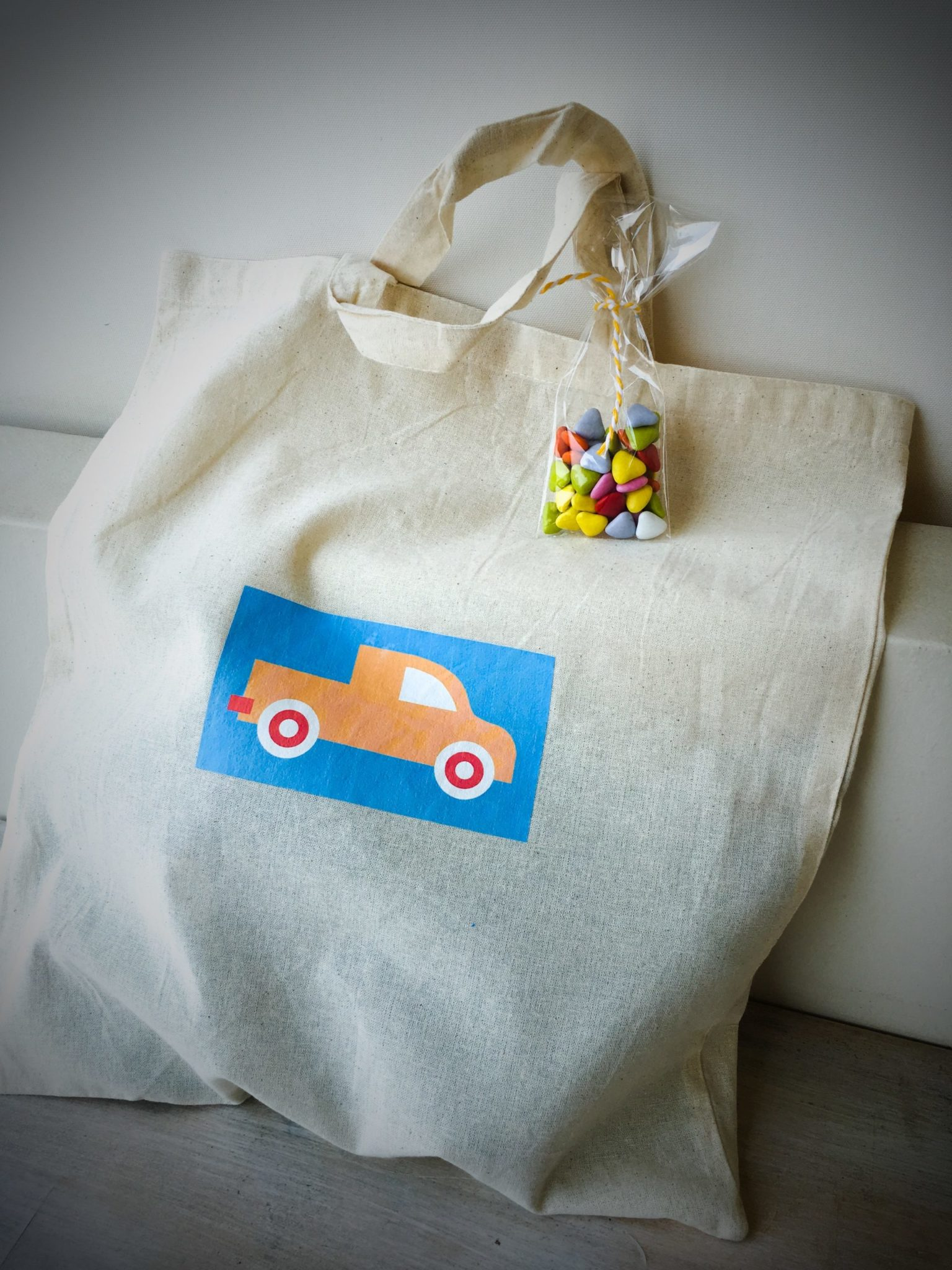 Cars-party-gift bag c