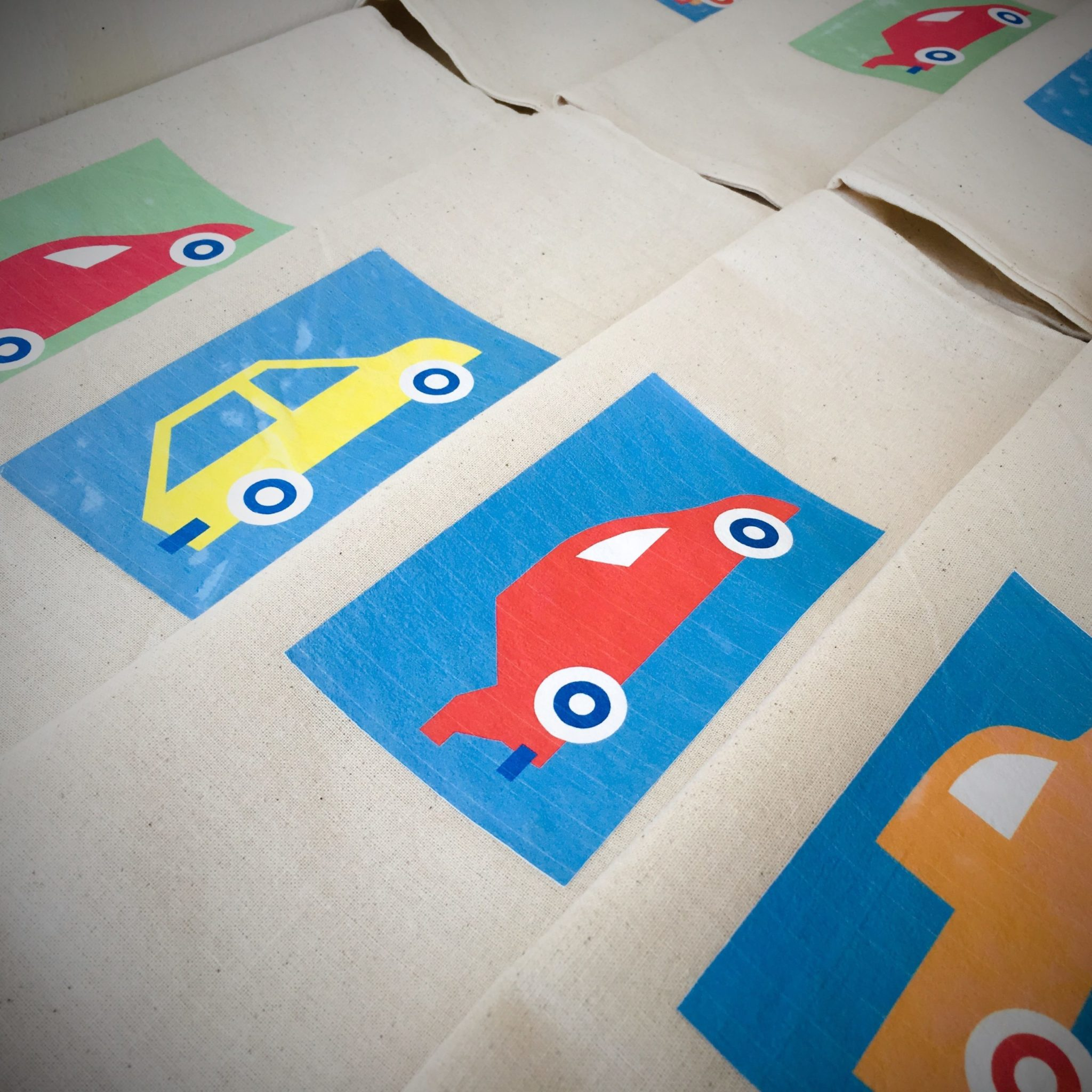 Cars-party-gift bags-close up