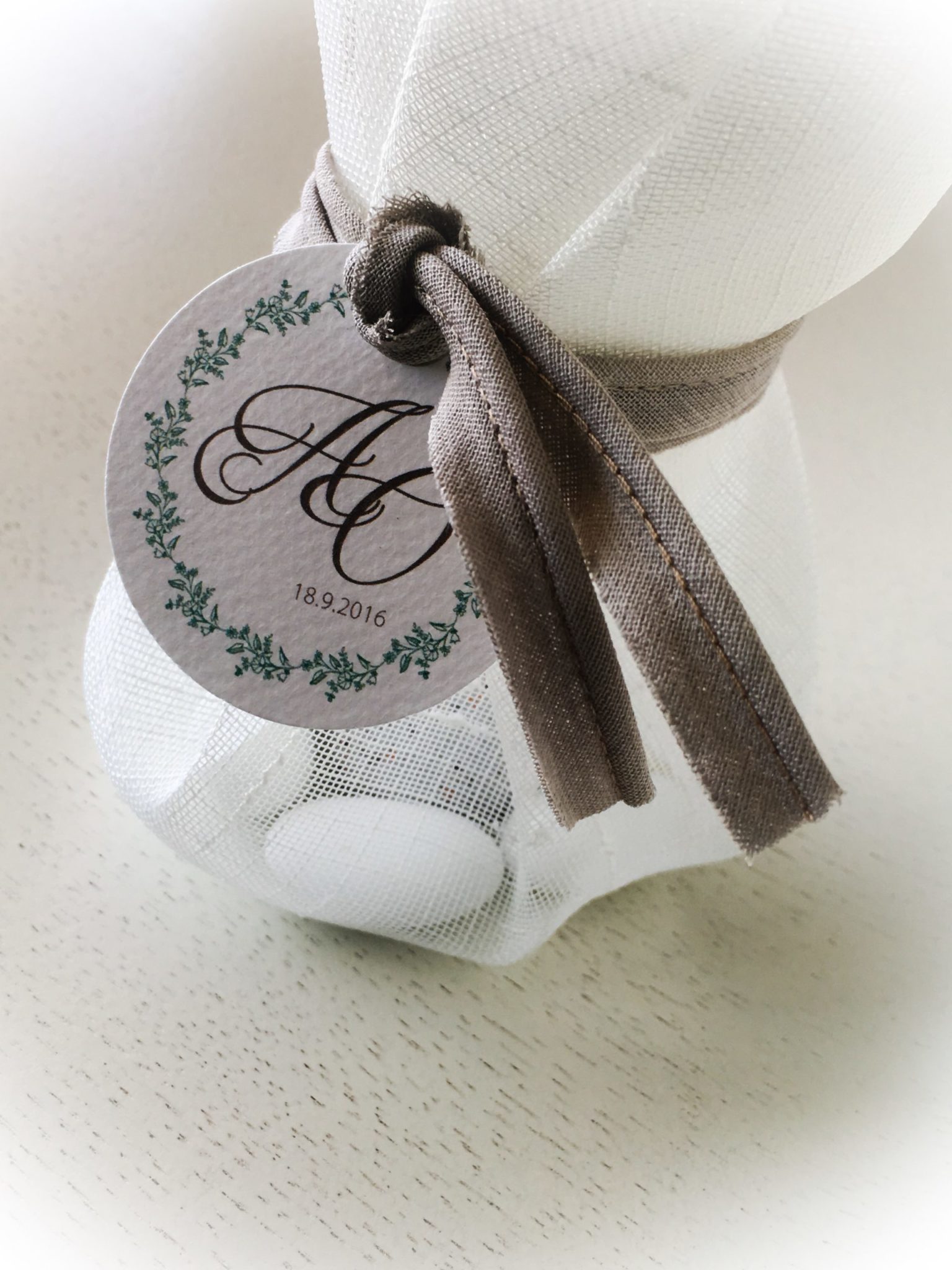 Chic And Simple-wedding favor-close up