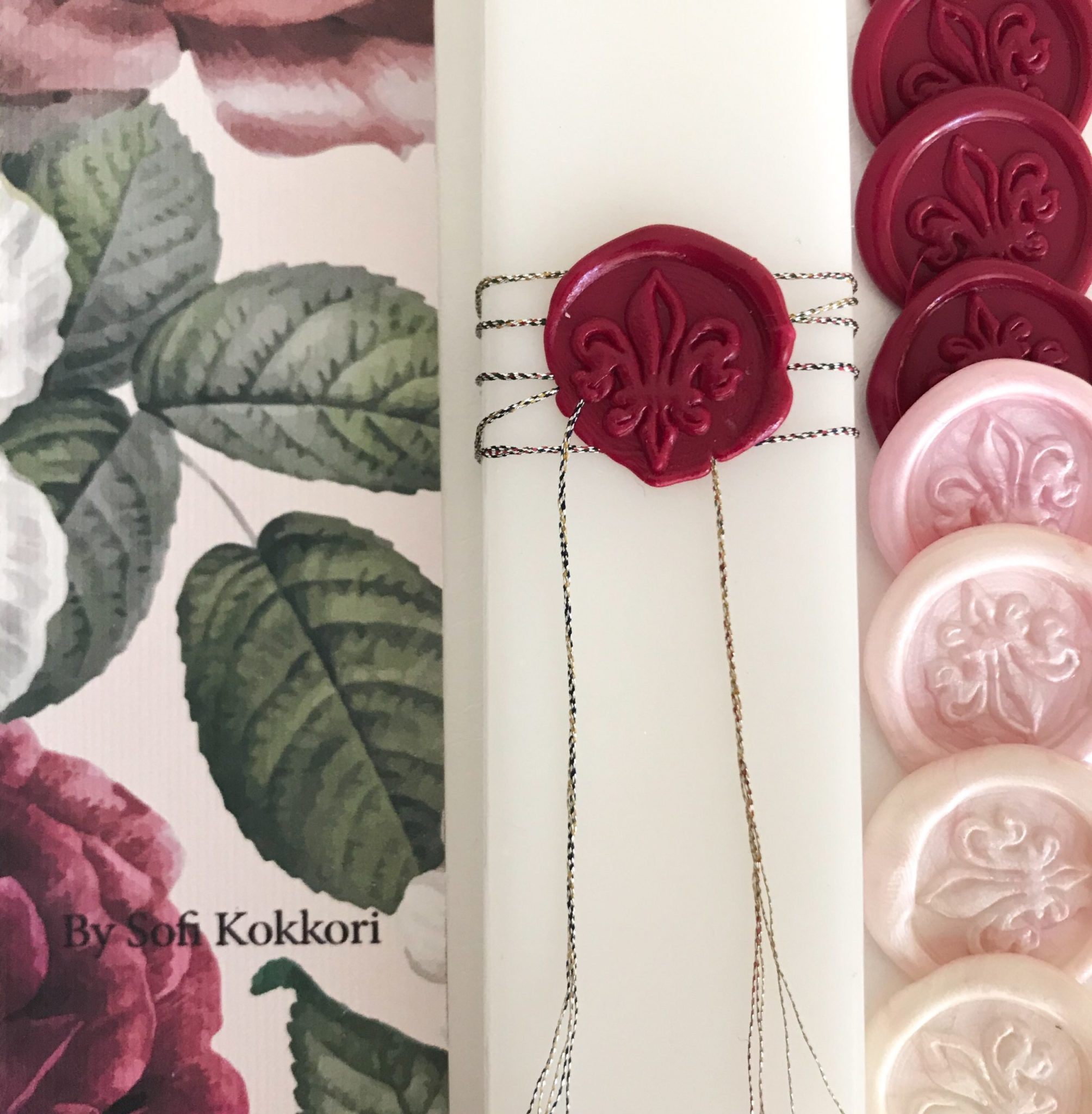 Easter Candle Inspiration-special occasion-sealing wax-close up