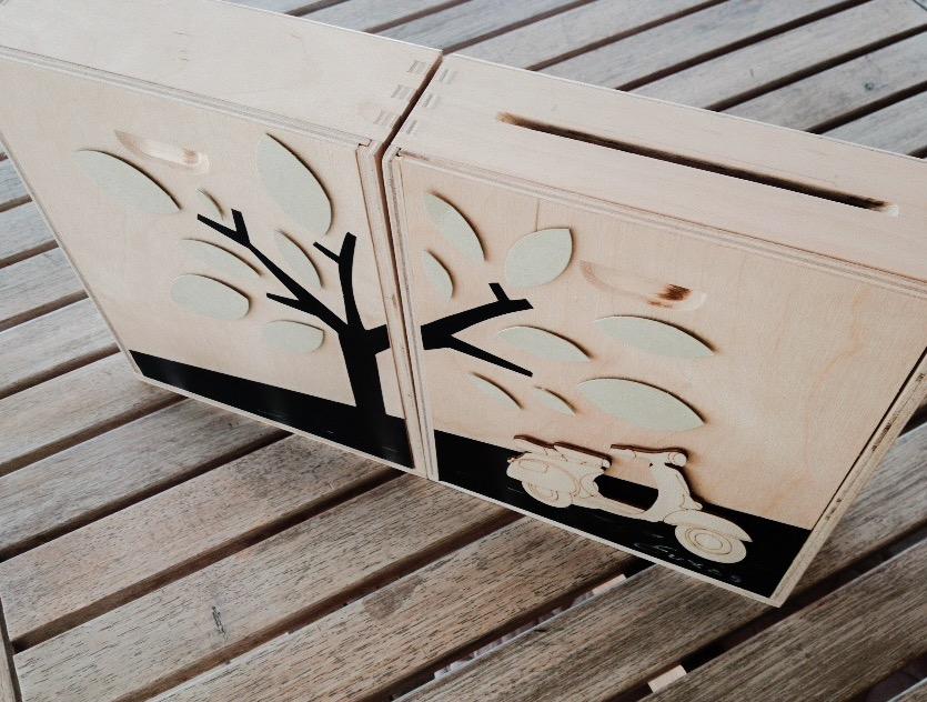 Eco-friendly Love-wedding-baptism-wish box-close up