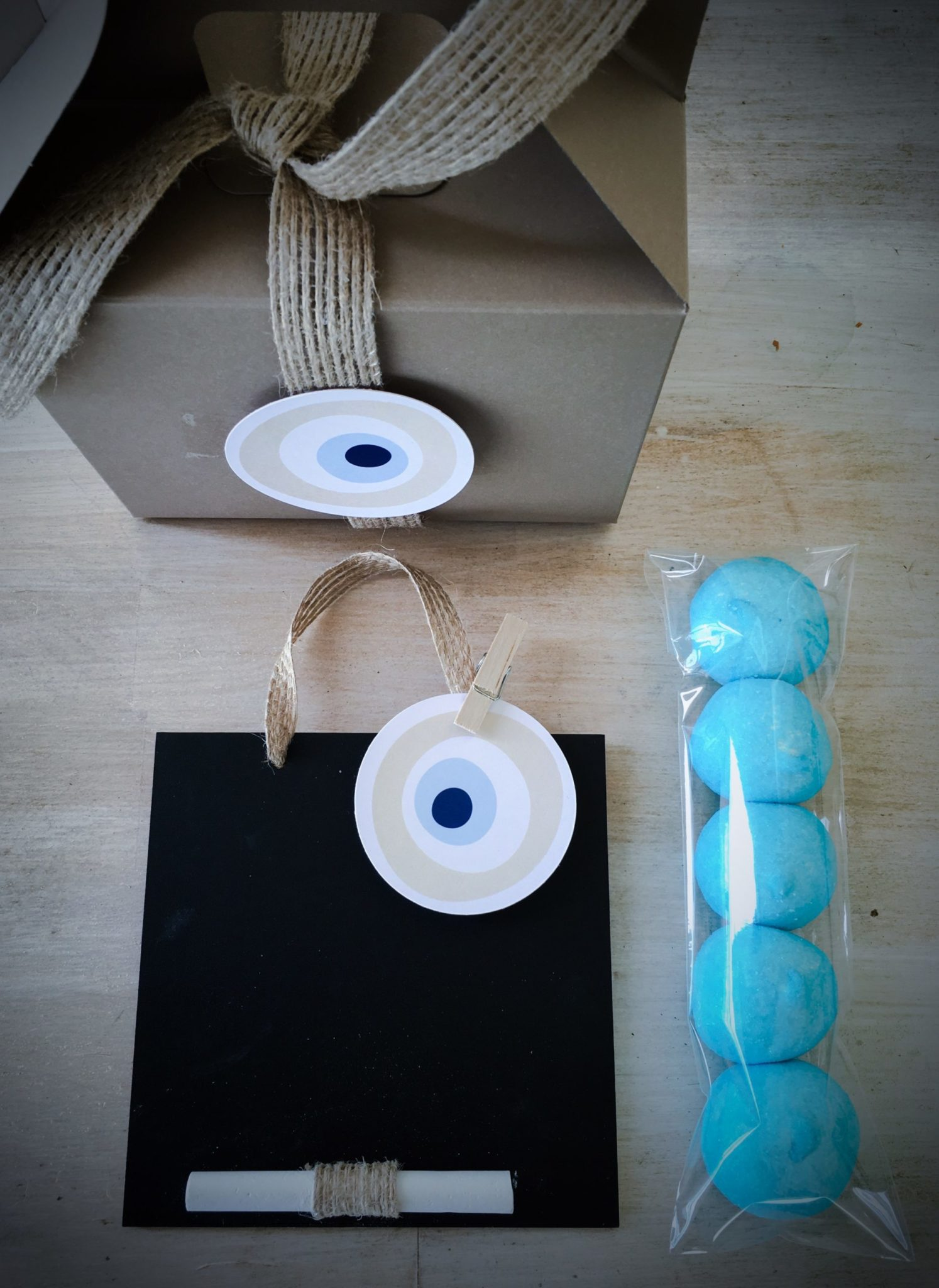 Evil Eye-baptism kids gift box
