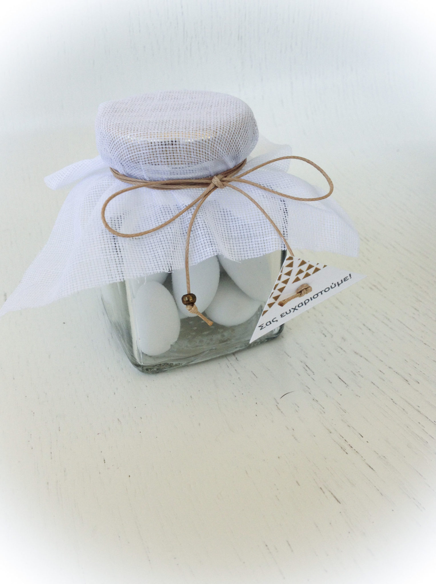 Geometric Harmony-wedding favor vase-proposal c