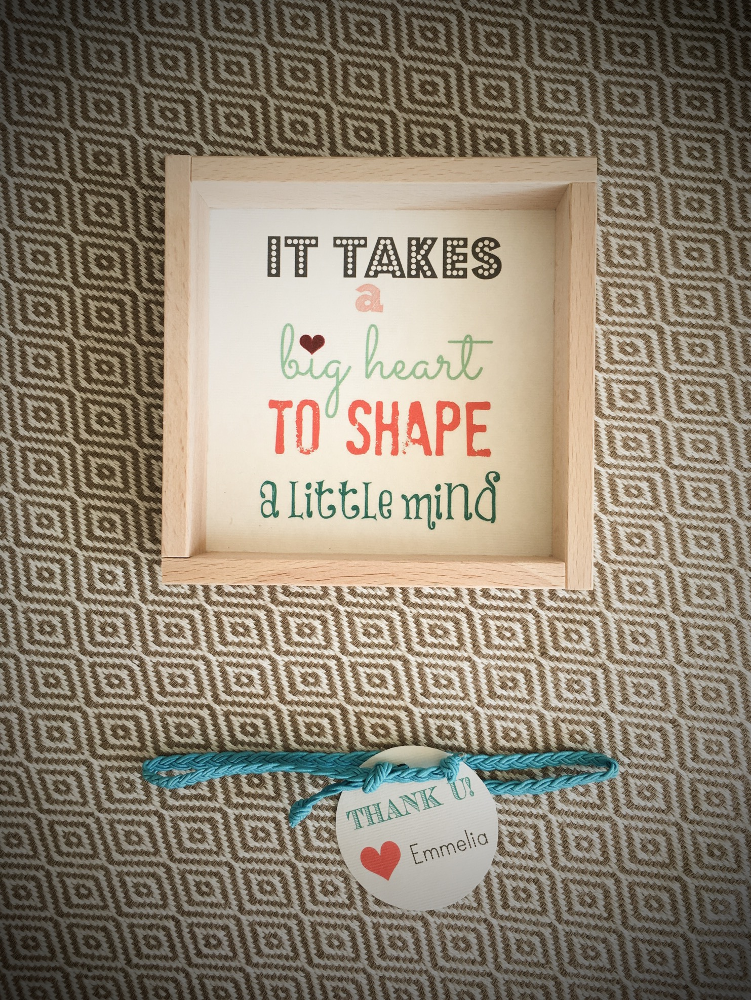 Gift For The Teachers-special occasion gift-quote frame