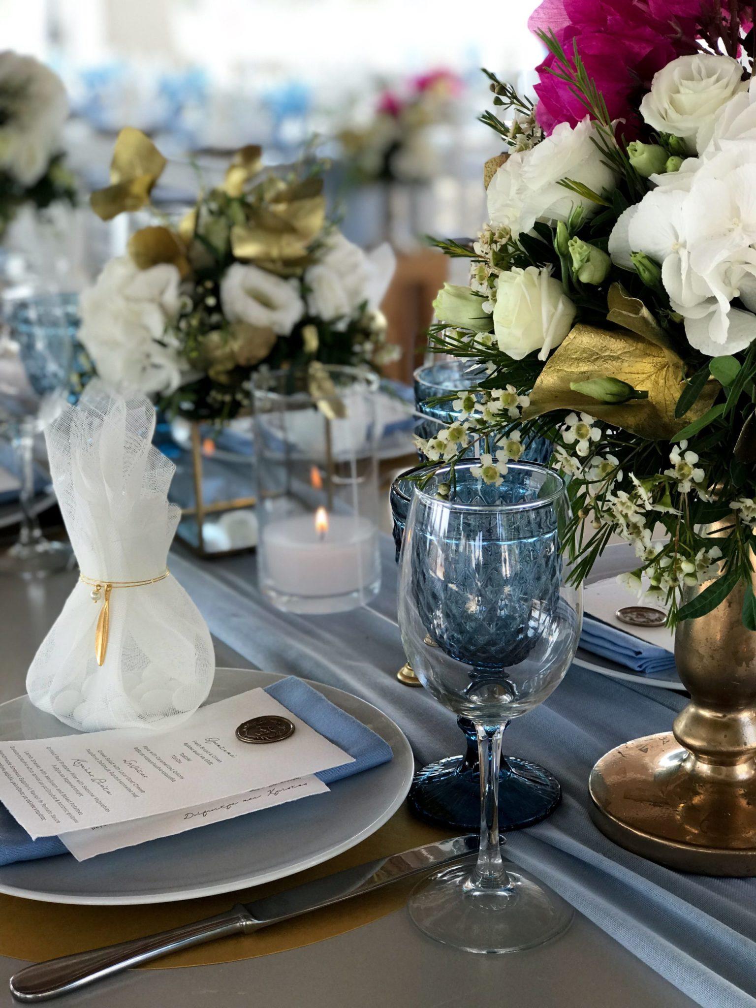 Golden Leaves-wedding-set up
