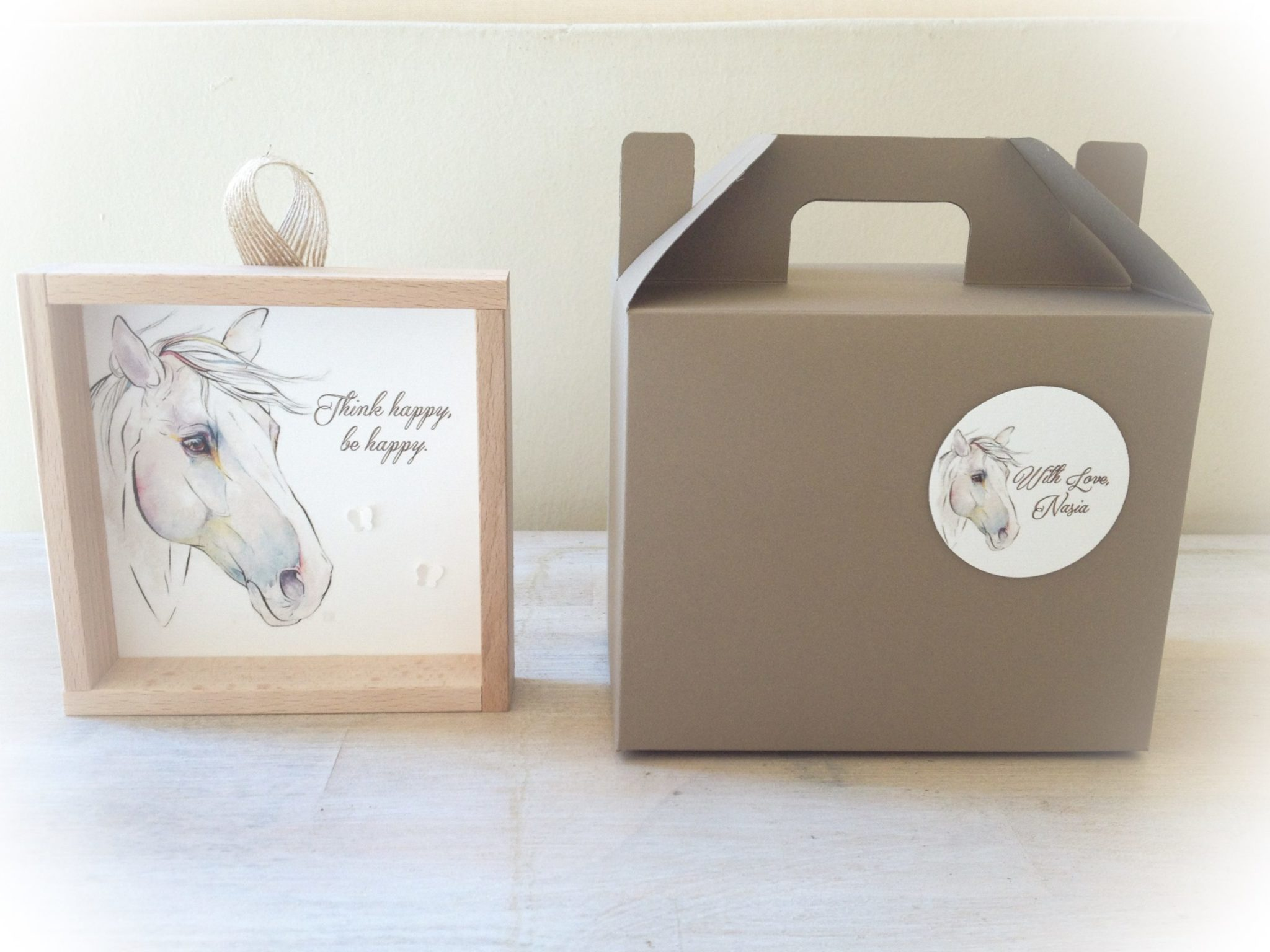 Horse Theme-party-kids gift box