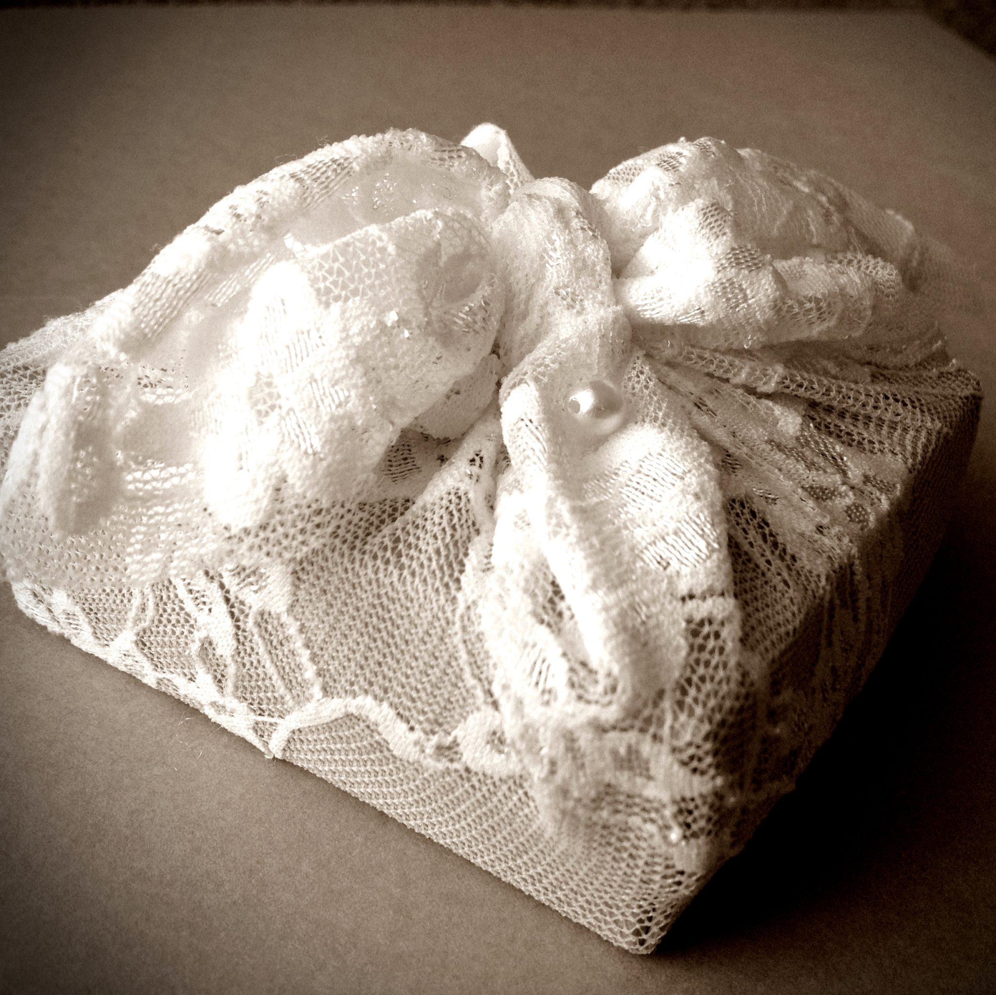 Lace And Pearls-wedding favor