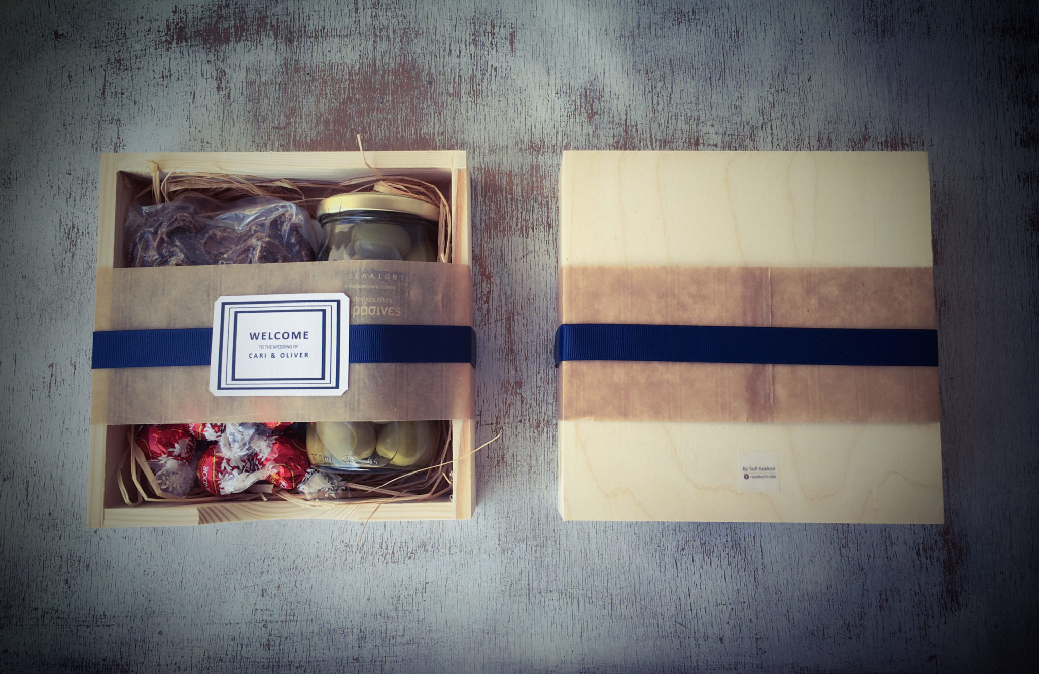 Olives, Chocolates And Biltong-wedding-welcome gift