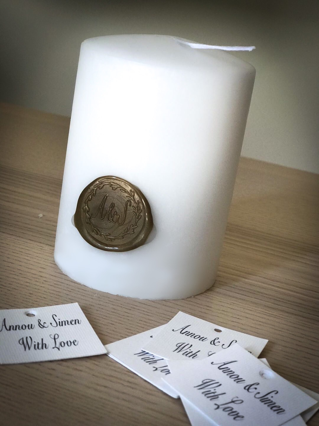 Sealed With Love-wedding-welcome gift-candle