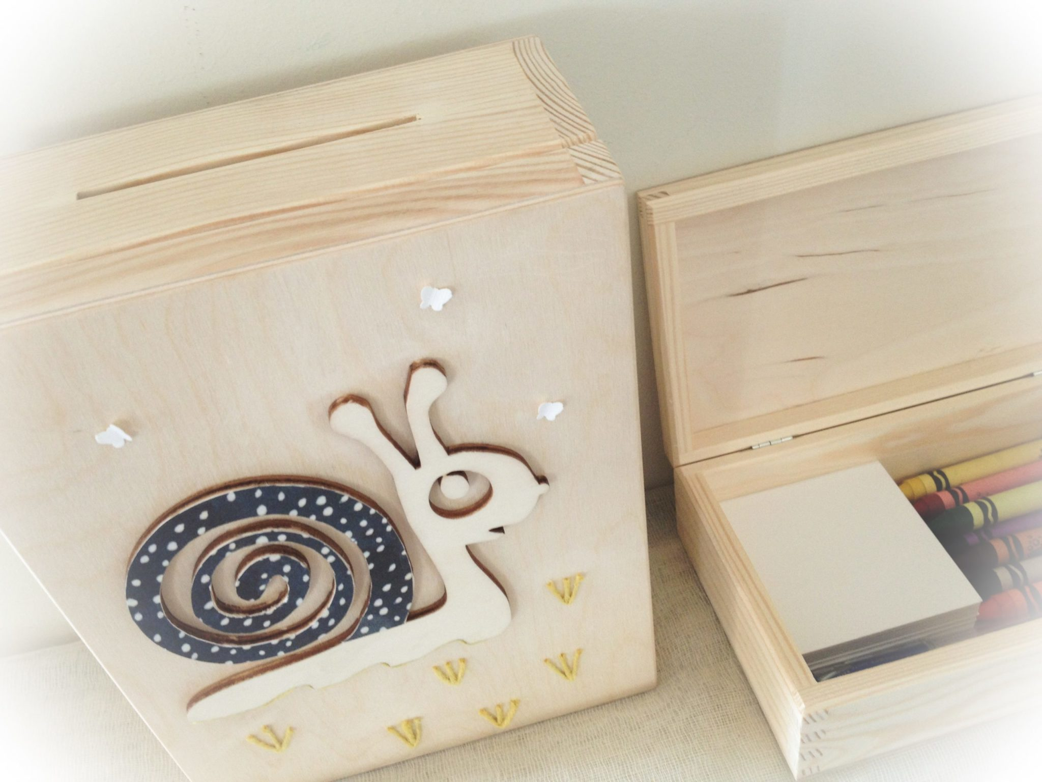 Snails And Butterflies-baptism wish box-kids activity