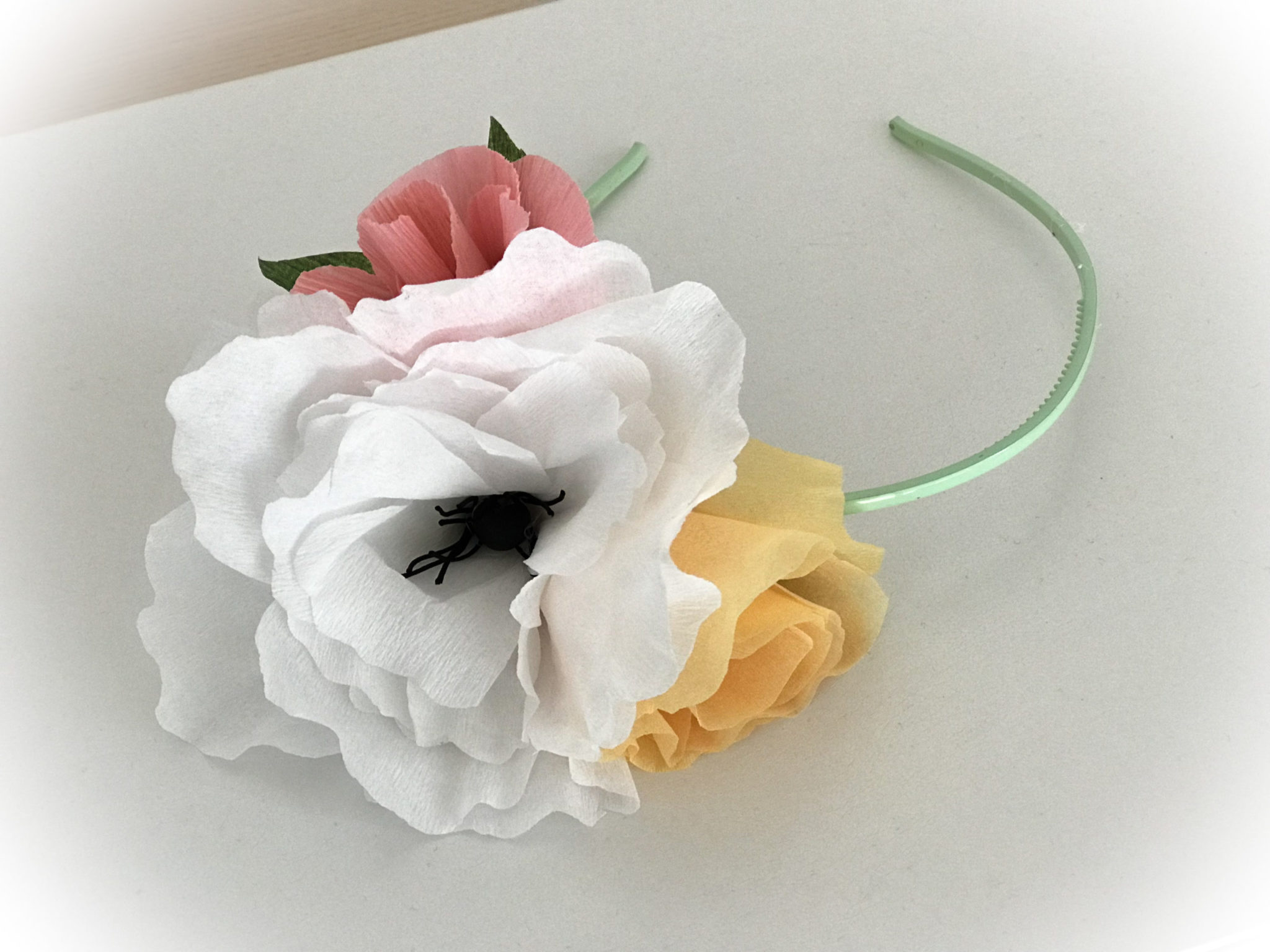 Spring Is Nature's Way Of Saying Let's Party-headband-close up