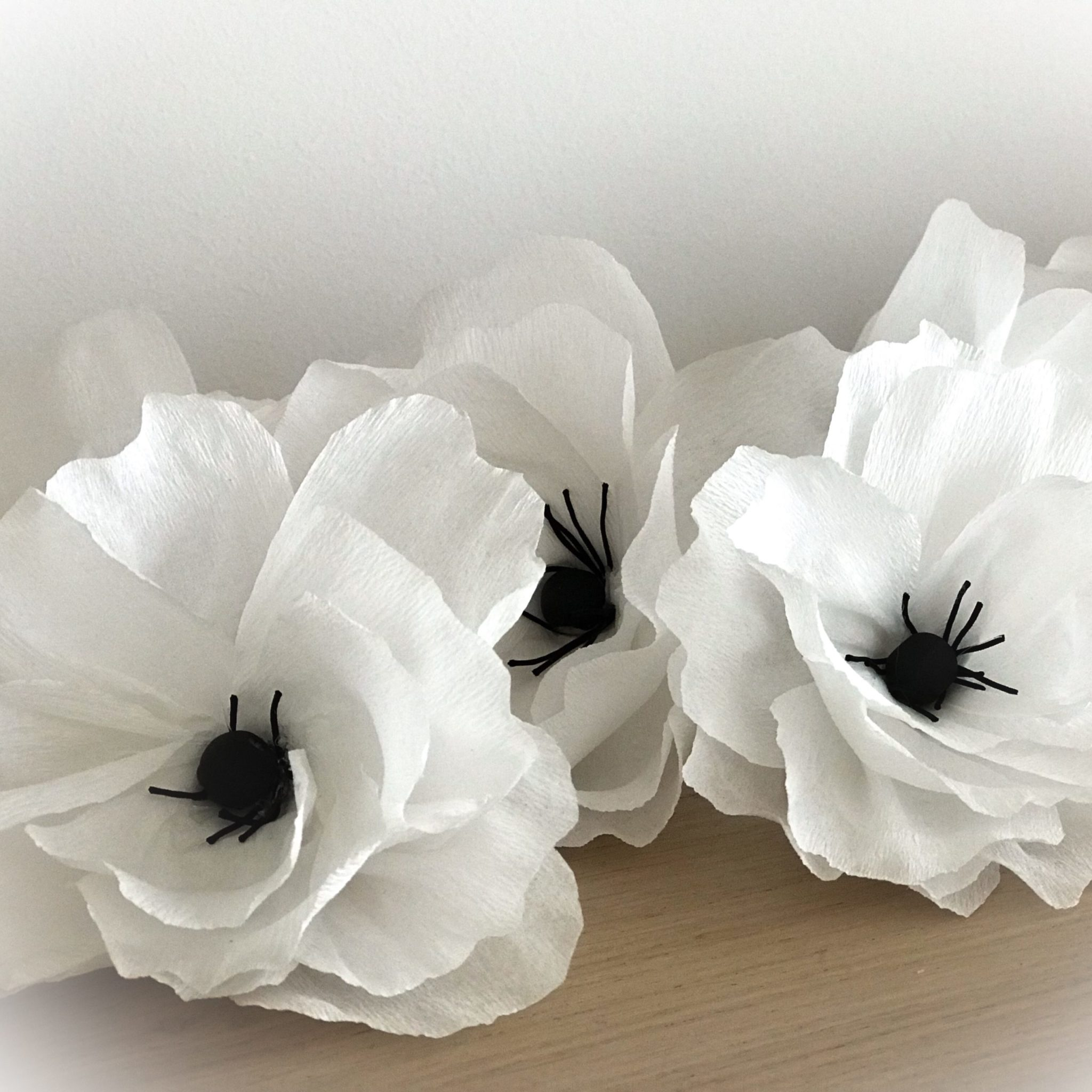 Spring Is Nature's Way Of Saying Let's Party-headband white flower-detail