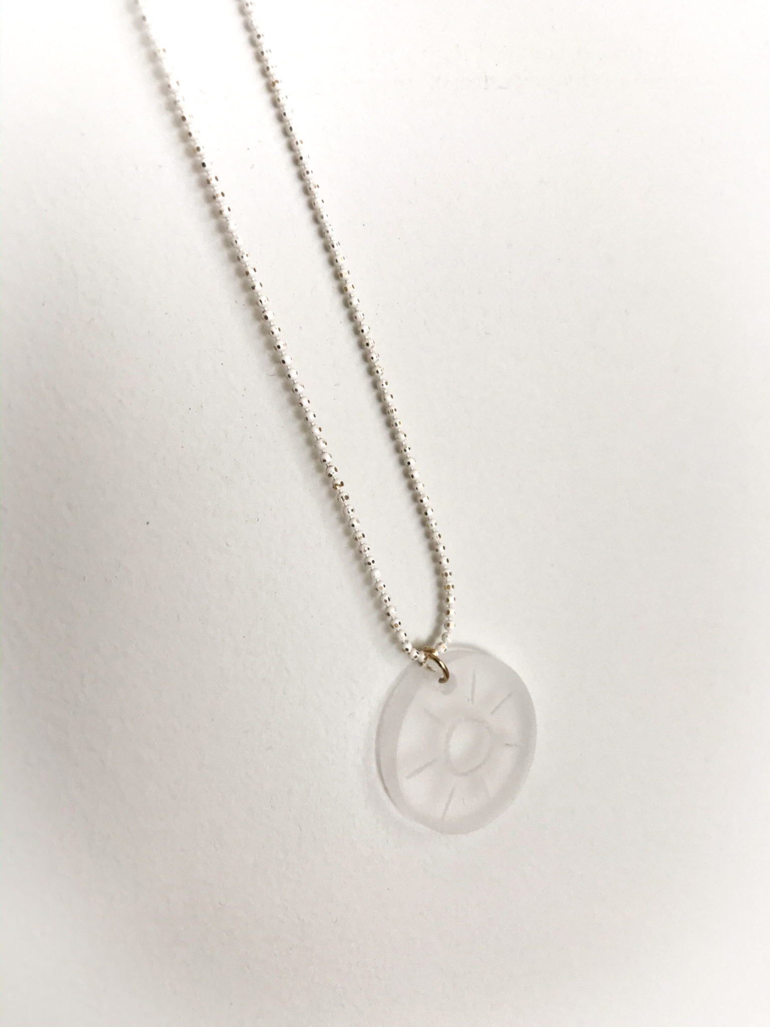 Sunny Days-baptism gift-necklace