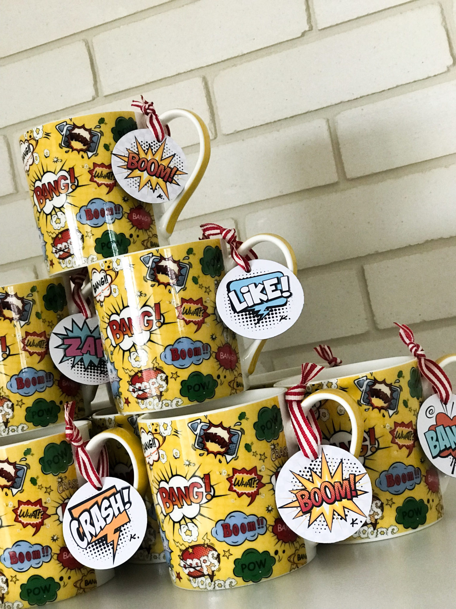 Super Heroes-party gifts-mugs