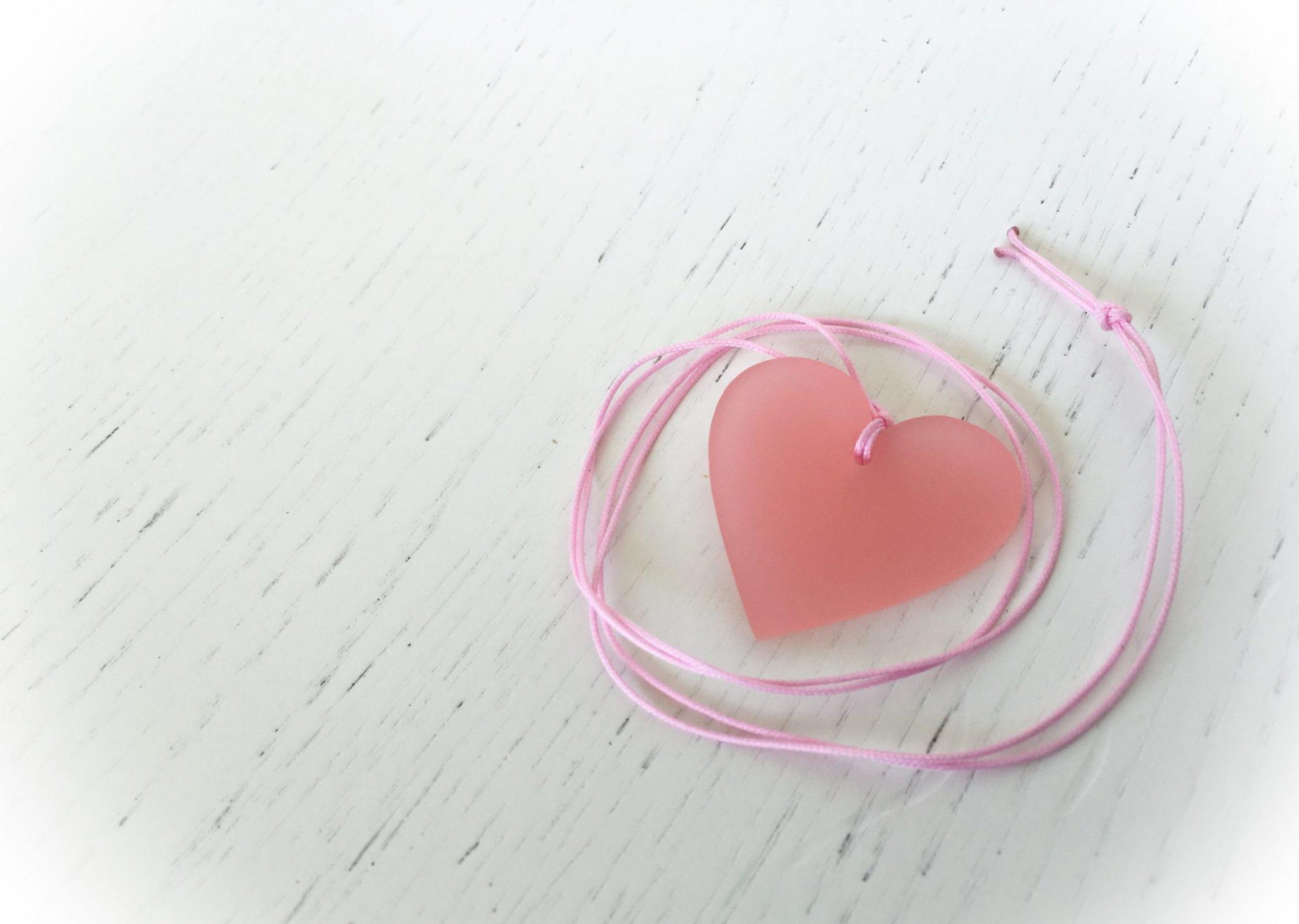 Sweet...heart-baptism favor-detail