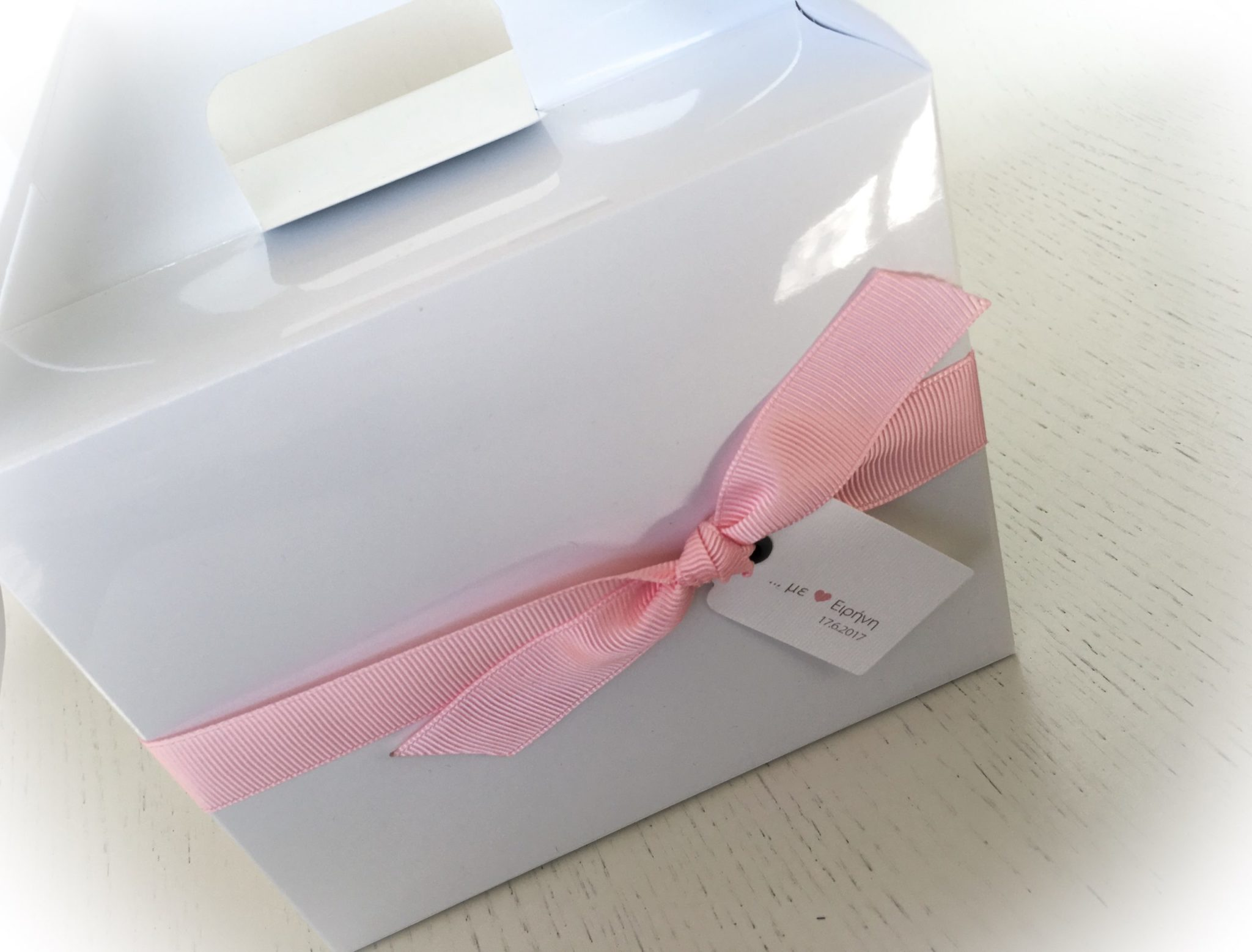 Sweet...heart-baptism kids gift box