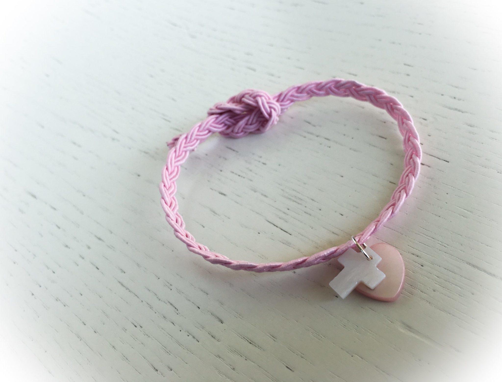 Sweet...heart-baptism-witenss bracelet