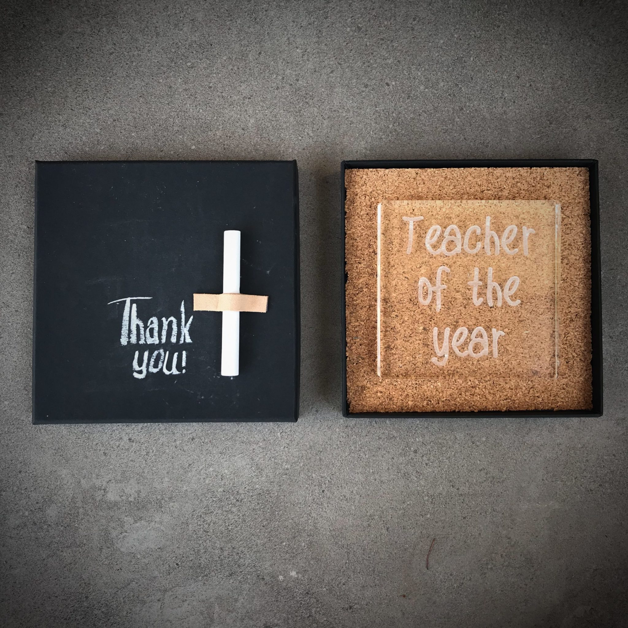 Teacher Of The Year-special occasion-plexi sign-packaging