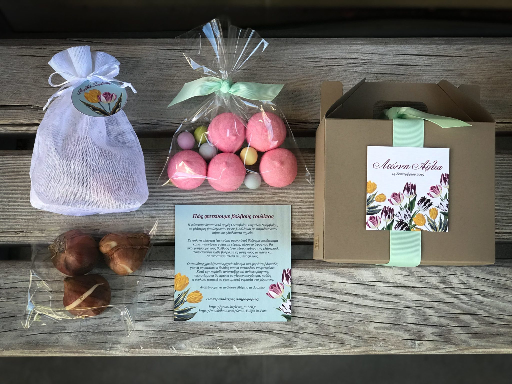 Tulips-baptism-kids gift box-content