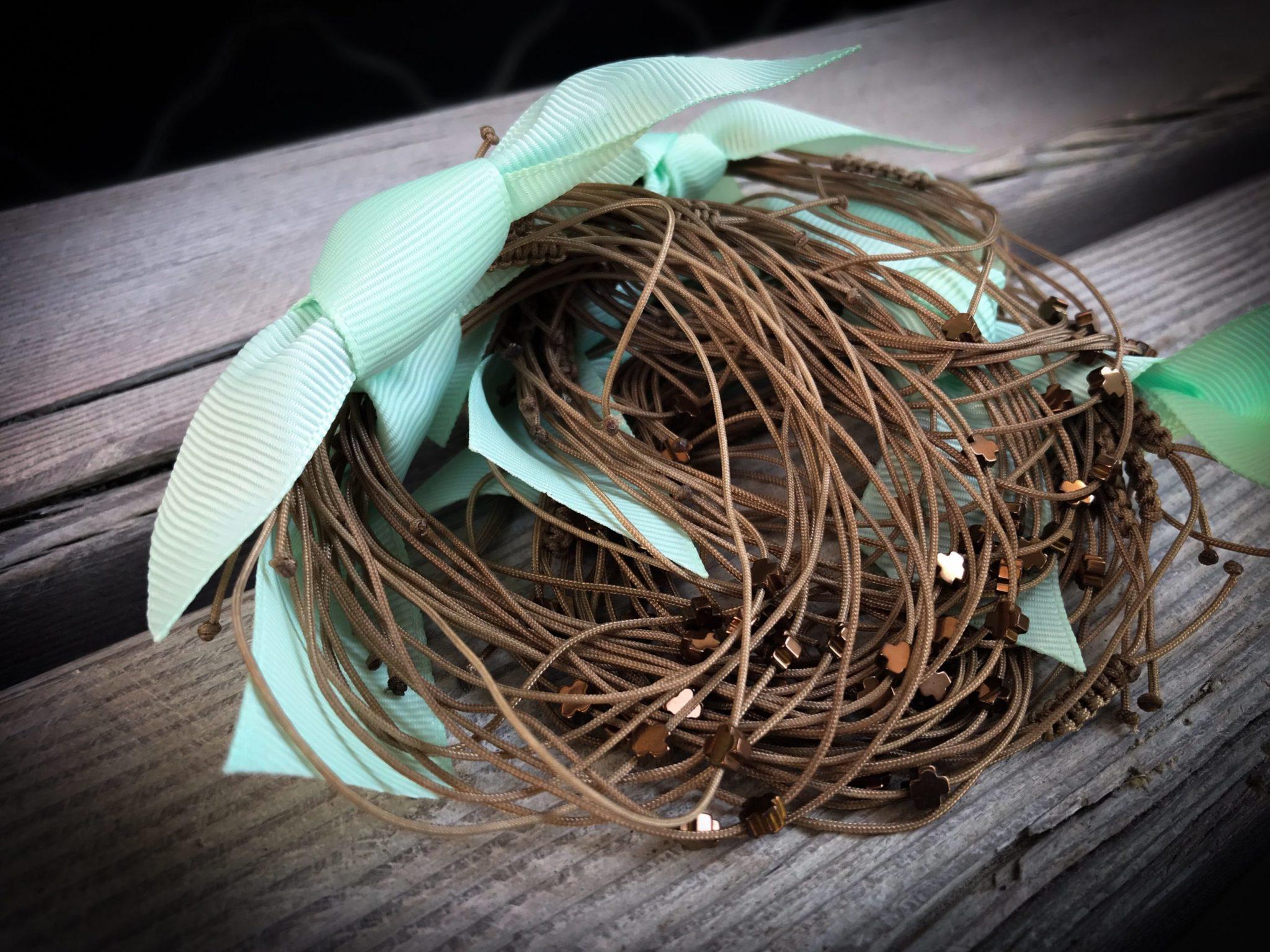 Tulips-baptism-witness bracelets