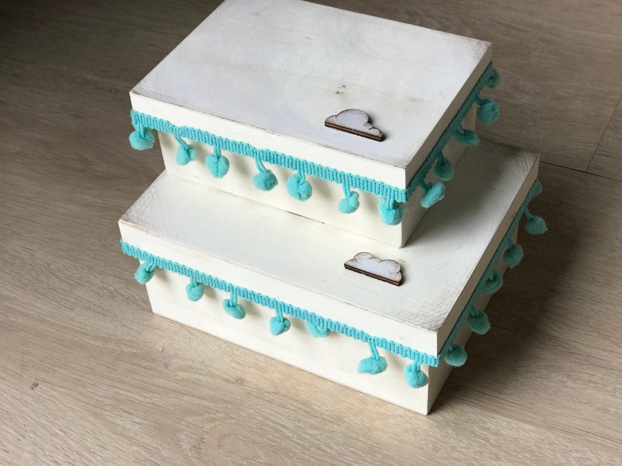 Up In The Sky-baptism set-martyrika box