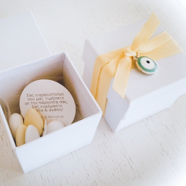 Welcome To Our Family-wedding favor box