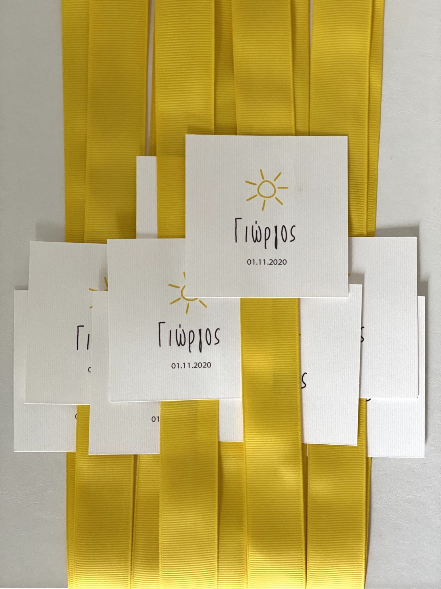 you-are-my-sunshine-baptism-gift-box-ribbons-thank-you-cards