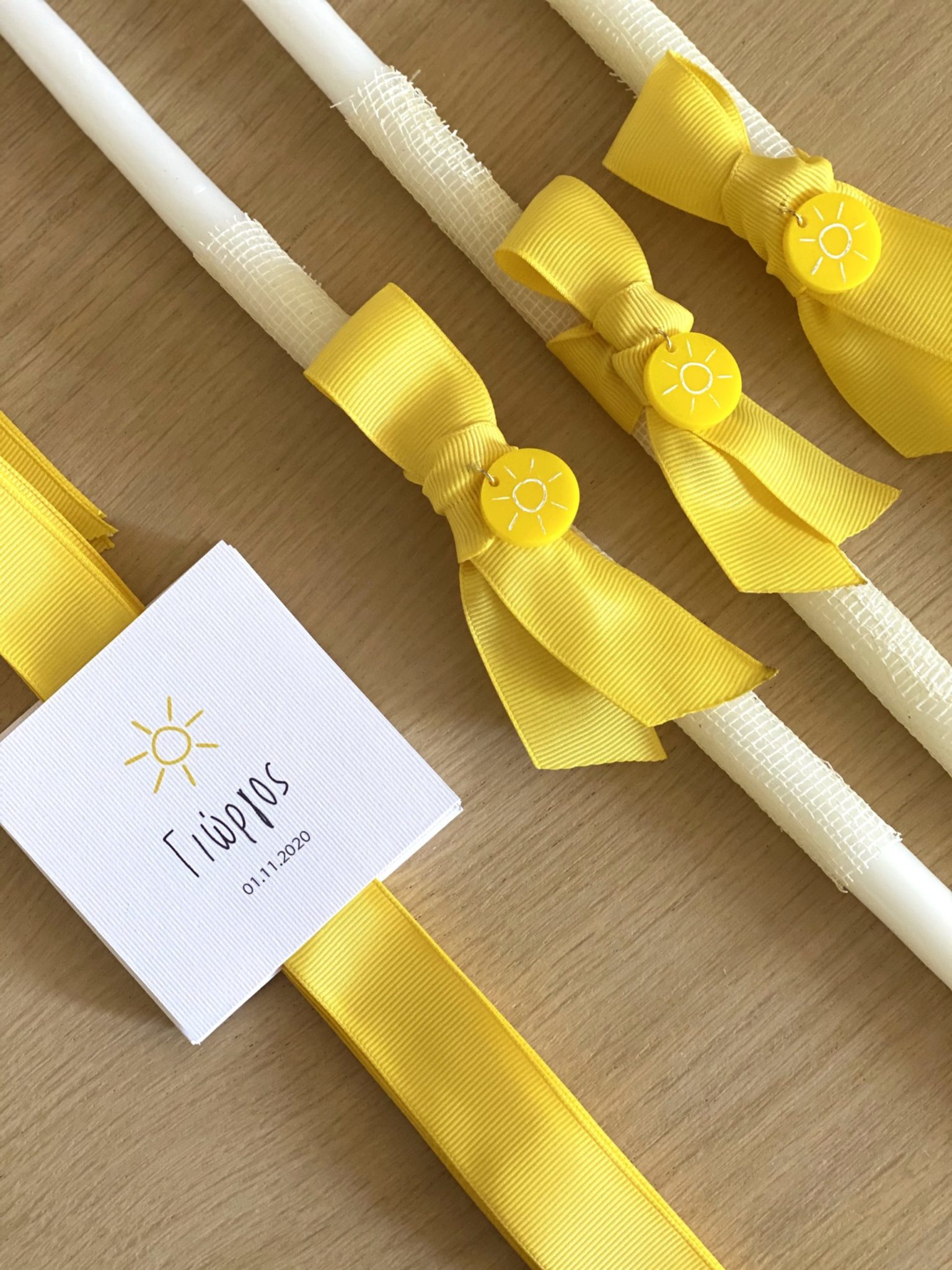 you-are-my-sunshine-baptism-set-candles